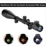 6-24*50aoeg che caccia portata ottica illuminata verde rossa del fucile della pistola del Mil-PUNTINO