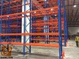 Estante modificado para requisitos particulares de la paleta del almacenaje, estante, estante, dejando de lado