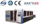 macchina della taglierina del laser di CNC 3000W per alluminio/piatto d'ottone/di rame
