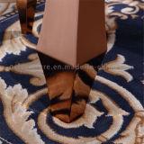 Goldmoderner Speisetisch mit Marmoroberseite