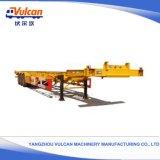 Della Cina della fabbrica di Vulcan 40FT dell'Tri-Asse scheletrico della base rimorchio basso semi