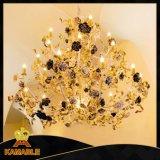 Elegance Hotel Rose projeto de decoração Chandelier Light ( NLX8862-27 )