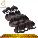 Человеческие волосы высокой ранга верхнего качества связывают волос объемной волны
