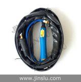 Canon 4m de soudure de torche refroidi par air de soudure à l'arc électrique d'argon TIG-26/Wp-26 avec le traitement bleu, type séparé connecteur de 35-50