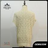 Chandail de chemise courte occasionnel de mode de lettre de femmes