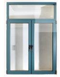 Bonne qualité et guichet en aluminium moderne de tissu pour rideaux des prix raisonnables