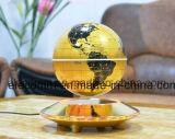 مغنطيسيّة يعوم [لفيترون] عالم كرة أرضيّة مع ضوء