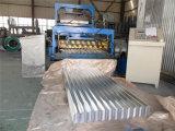 Roulis en acier coloré de panneau de toiture de mur de Galzed formant la machine