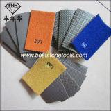 Esmeril del papel flexible de la arena del diamante HD-2 (90X55m m)