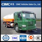 carro del depósito de gasolina del carro del transporte del petróleo de 20cbm HOWO