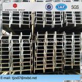 Viga estándar laminada en caliente del acero I del En de Q235 Q345 GB para el edificio de la estructura de acero