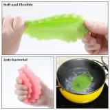 Pincel de lavagem de pratos de silicone para lavar frutas e vegetais