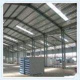 Estructura de acero para el taller y el almacén