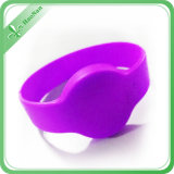 Wristbands impresos insignia de encargo del silicón de RFID