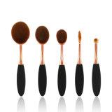 5 PCS Oval cepillo de dientes Forma Maquillaje pinceles Set Cosmetic Tools Kit