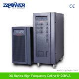 Verdadeira UPS online 192VAC LED Display LCD de onda senoidal pura Online No Breaks (DX6kVA-DX20kVA)