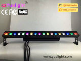 Luz de la arandela LED de Guangzhou Yuelight 18 PCS 10W 4in1