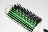 LCD eléctrico enderezadora cepillo de pelo