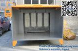 Cabine de pulverizador fácil do pó da limpeza com certificado do Ce