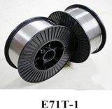 Провод заварки E71t-T поставкы фабрики вырезанный сердцевина из потоком