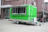 Grüne Farben-Nahrungsmittel-LKW für Verkauf USA