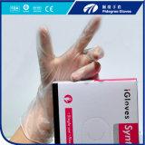 Dispsoable Vinylhandschuh-Puder-freier Latex-freie Wegwerfhandschuhe M=4.5gr