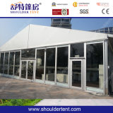 Barracas ao ar livre da exposição com parede de vidro (SDG007)