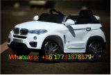 Auto van de Jonge geitjes van het Stuk speelgoed van de Afstandsbediening van de Kleur van BMW de Witte Plastic Elektrische