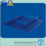 Courroie en plastique modulaire affleurante du réseau Fls254 de radius (FLS254)