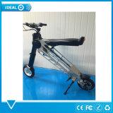 Bike регулярного пассажира пригородных поездов самоката урбанской складчатости женщин электрический, облегченный электрический велосипед с светами СИД