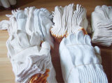 Работа связанная хлопком руки фабрики навальным устранимым перчаток Gardon Golves