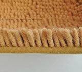 O PVC elevado antiderrapante da esteira do assoalho do Chenille da pilha pontilha a esteira Non-Slip baixa da colagem