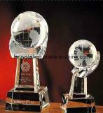 Qualitätskristallglas-Fußball-Fußball-Trophäe-Preis
