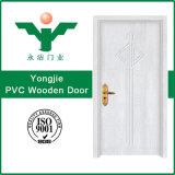 Porte en bois bon marché de PVC avec beaucoup de couleurs