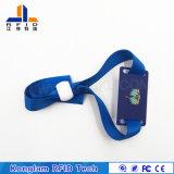 Personalizzato giocando il Wristband astuto Braided di codice RFID del laser