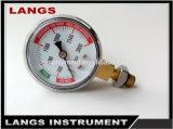 Baixo calibre de pressão diferencial do carbono 031