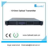 transmisor óptico de 14dBm CATV 1310nm con el estante 1u