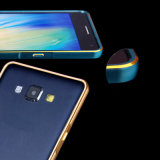 Caixa abundante do metal dobro da curvatura de Hippocampal do arco da cor para Samsung