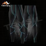 Pantaloni di Legging Fitnesss di ginnastica delle ghette di sport degli uomini