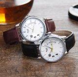 人および女性のためのカスタム手首のステンレス鋼の腕時計