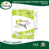 Beste verkaufende erwachsener Windel-Baby-Plastikdruck-erwachsene Windel preiswertes erwachsenes Aiapers