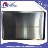 Caja del pan modificada para requisitos particulares cacerola plana de aluminio de la hoja de /Cake /Pastry de la hamburguesa de la bandeja