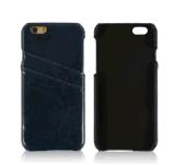Caixa do couro traseiro da caixa do telefone para o iPhone