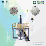 Plastikwiederverwertung und -waschmaschine für Haustier-Schrotte