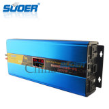 Suoer 2016 new High frequencies hybrid Photovoltaic inverter UPS inverter 24V 1000W with MPPT solarly CONTROLLER (SON-SUW1500VA)