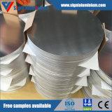 Círculos de alumínio do revestimento brilhante para o Cookware para a venda