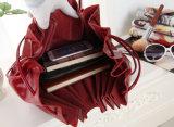 レトロ様式の方法革女性のハンドバッグ