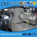 De tweeling Machine van de Uitdrijving Granuling van de Extruder van de Schroef pp Plastic om Te recycleren