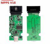 Os ECU Remap a microplaqueta que ajusta Mpps V18 podem pisca-pisca