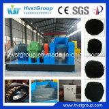 Schrott-Gummireifen, der Geräten-Preis/überschüssiges Reifen-Abfallverwertungsanlageaufbereitet